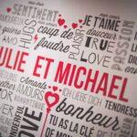Une photo pour illustrer le mariage de Julie et Michael