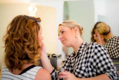 Les préparatifs de la mariée : Le maquillage