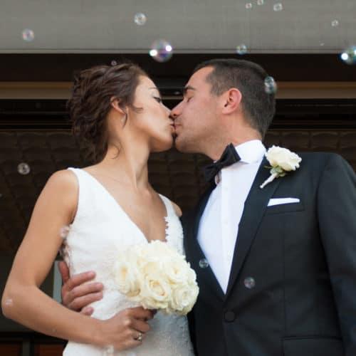 Mariage de Marine et Nicolas à Gerardmer
